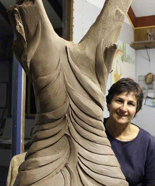 SOTE 2014 - Janna Pameijer at work in her studio